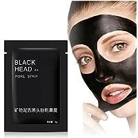 Black Forest Spa 20pcs Mineral negro nariz de mandíbula removedor Black Face Mascarilla facial Máscara de poro tratamientos Máscara Limpiador Máscara de poro limpieza Clema Blackhead Máscara Tiras