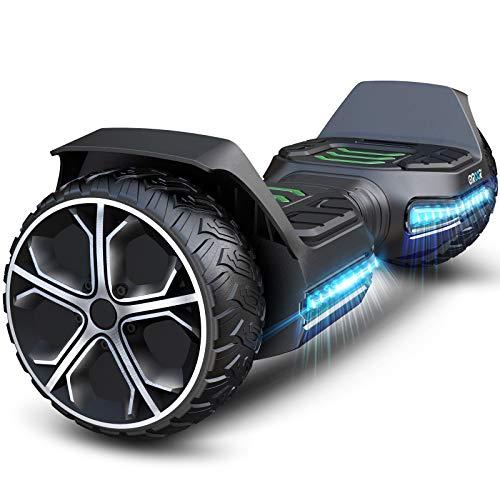 Gyroor Hoverboard Offroad Hoverboard für Kinder 6.5\'\' G5 Self Balancing Scooter mit Bluetooth-Musiklautsprecher & LED Lichter Premium Hoverboard für Jugendliche und Erwachsene von 20-120kg 600W