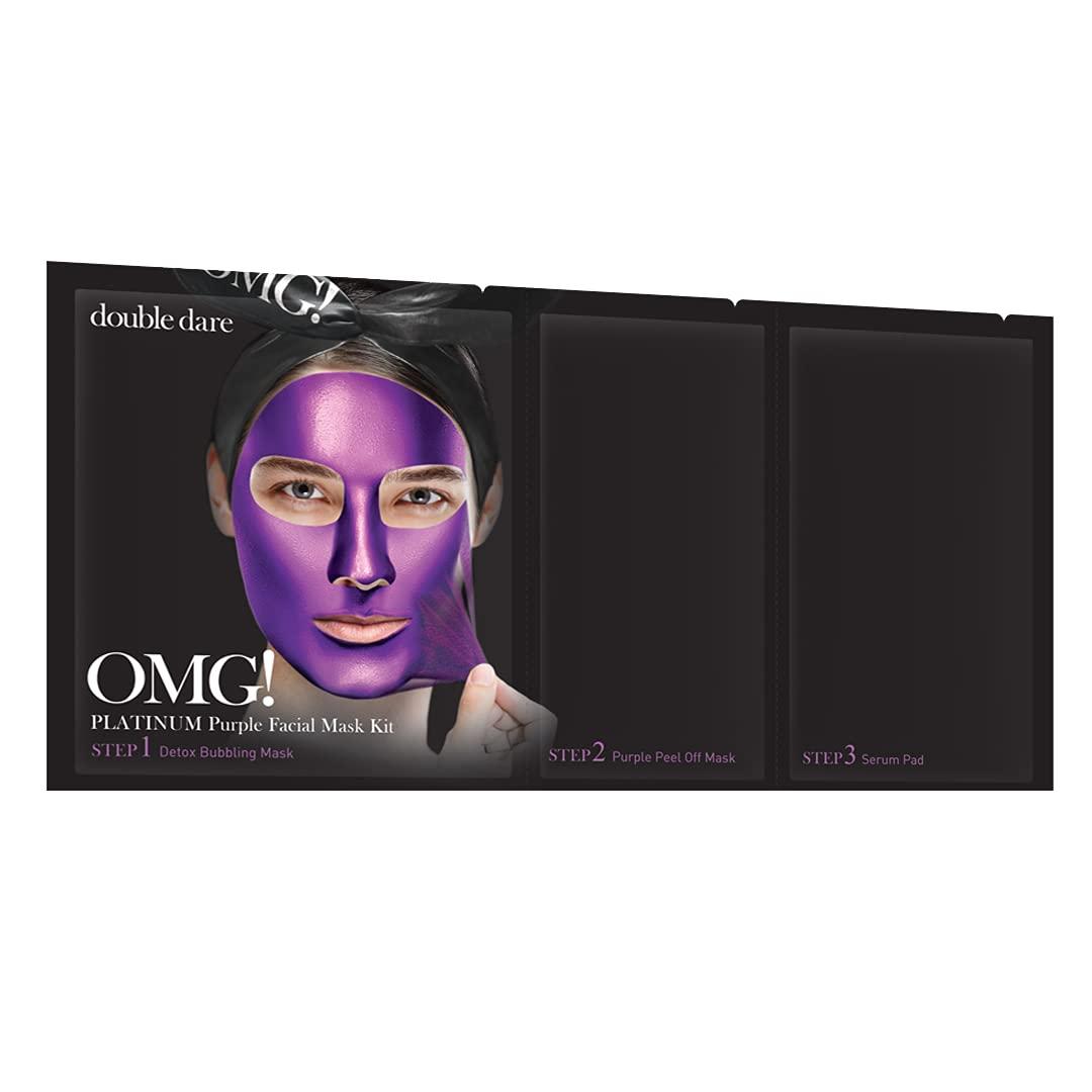 Platinum overseas Purple 3-in-1 Facial Mask Antio Kit Revitalize Detoxify 55% OFF