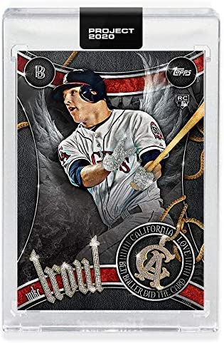 Topps Project 2020 Baseball Card 51 2011 Mike Trout by Ben Baller product image
