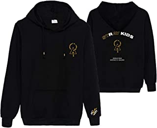 KPOP Stray Kids Hoodie District 9 Unlock Concert Sweater Hyujin I.N Jisung Woojin Sweatshirt