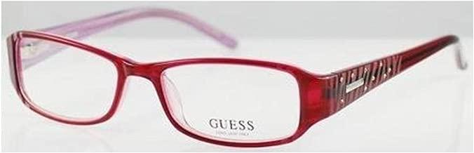 GUESS GU 1564 Eyeglasses GU1564 Burgundy BU Optical Frame