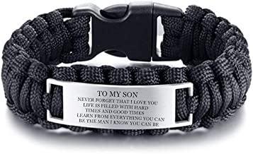 Best to my son bracelet from dad Reviews