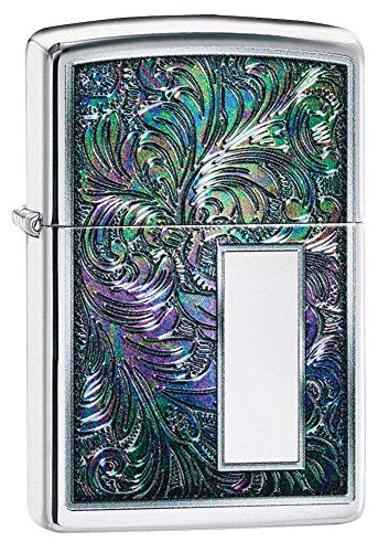Zippo Unisex's Design Pocket Lighter, Multi Color Venetian, One size
