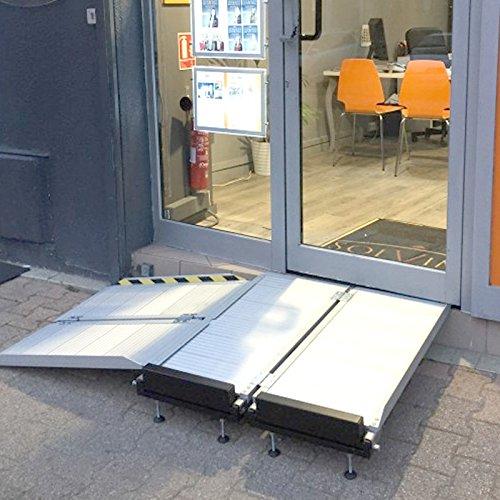 Plateforme d'angle amovible droite (vendue seule) pour rampe...