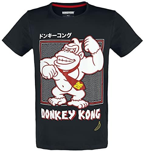 Super Mario Donkey Kong Hombre Camiseta...