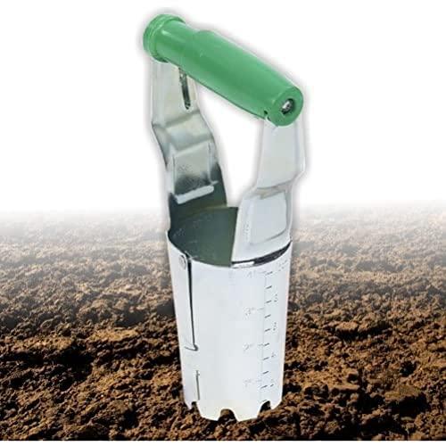 Lifetime Garden - Utensile da giardinaggio per semina con meccanismo di chiusura a molle, ideale per bulbi e cipolle