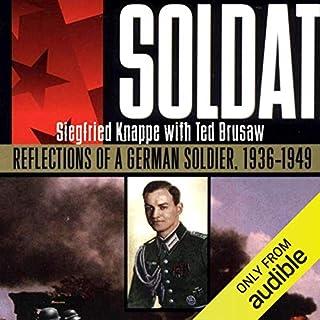 Soldat audiobook cover art