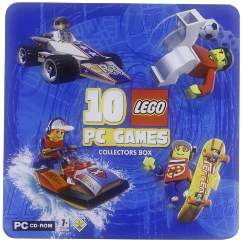 10 Lego PC Games - Collectors Box