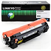 LINKYO Compatible Toner Cartridge Replacement for HP 83A CF283A (Black)
