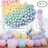 Funny House Globos Pastel ,Macaron Latex Balloons Color Globos para Graduaciones, Fiestas,...