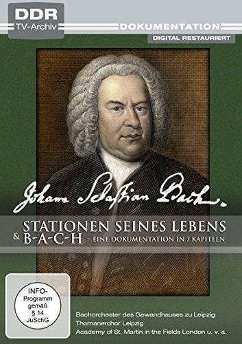 Johann Sebastian Bach - Stationen seines Lebens / Bach - Eine Dokumentation in 7 Kapiteln (DDR TV-Archiv)