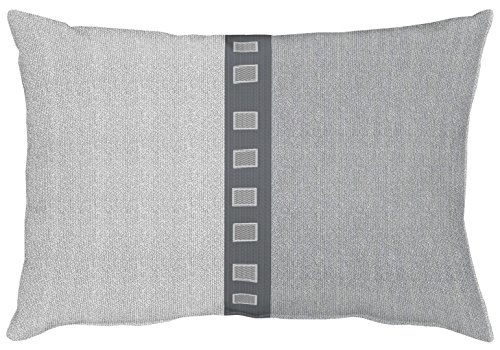 APELT Milano_35x50_88 Kissen, Polyester, grau, 50 x 35 x 10 cm