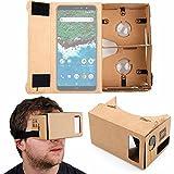 DURAGADGET Gafas de Realidad Virtual VR para Smarphones Smartphone BQ Aquaris X2, BQ Aquaris X2 Pro