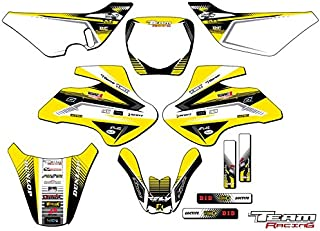 Team Racing Graphics kit compatible with Suzuki 2000-2006 JR 50, ANALOG Complete Kit