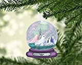 Seal and Penguin Artic Christmas Snowglobe Snow Globe Ornament, Personalized Ornament, Custom Christmas Holiday, Baby's First Christmas, Kids