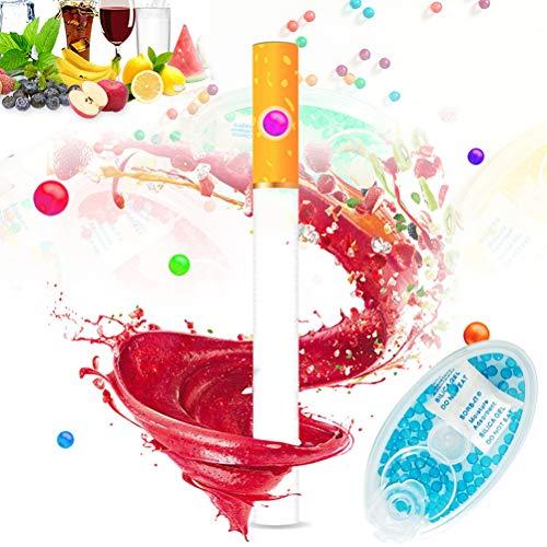 BUNRUN 100PCS Filtro de Cigarrillos Capsulas de Aroma de mentol de Menta Capsula de Bola de Cuentas de explosion DIY
