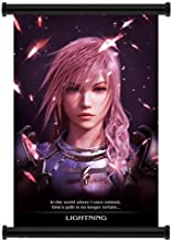 """1 X Final Fantasy XIII-2 Game Fabric Wall Scroll Poster (16""""x24"""") Inches"""