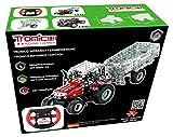 TRONICO Metallbaukasten RC Traktor MF Massey Konstruktionsspielzeug - Mint - STEM - Modellbau - Bauen mit Werkzeug