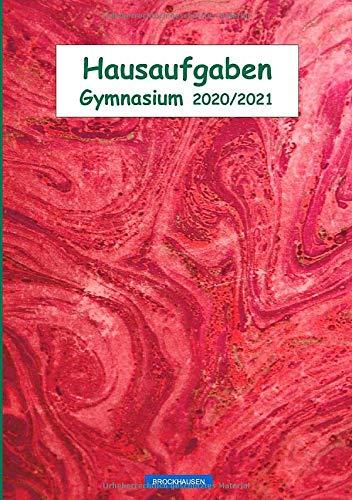 BROCKHAUSEN: Hausaufgaben 2020/ 2021: Gymnasium (Hausaufgabenheft Gymnasium 2020/ 2021, Band 19)