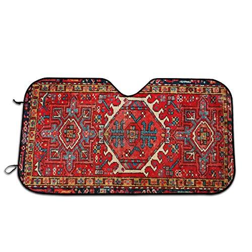Tapijten van The Persians Universal Fit Car Sunshade - Houd uw voertuig koel. UV zon en warmte reflector