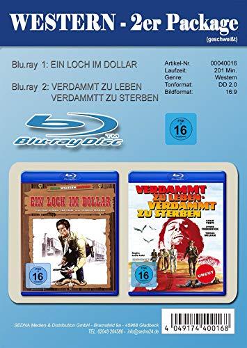 Ein Loch im Dollar / Verdammt zu leben - Verdammt zu sterben - 2er Pack [Blu-ray]