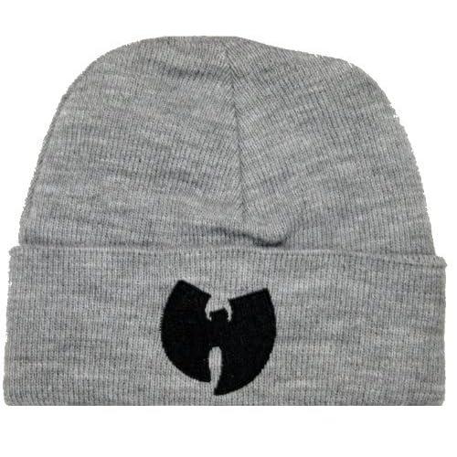 2064f5866dd Wu Wear Wu-Tang clan Wu Symbol Beanie Mütze Bonnet Grey Gray Wollmütze