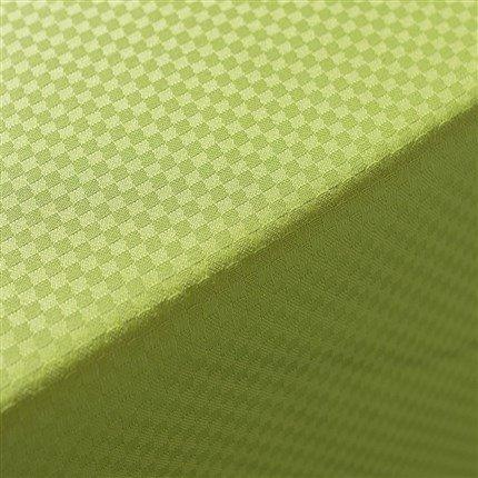 Adonie – Nappe modèle Grama, 50% coton/50% polyester, lavable en machine à laver (140*250) pistache