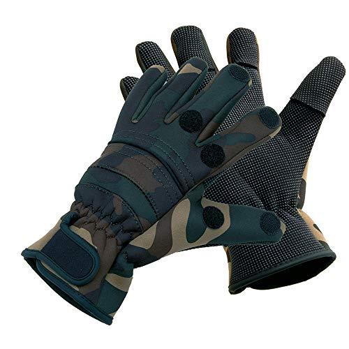 Behr Fishing Gloves Titanium Neopren Power Rip, XXL