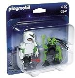 PLAYMOBIL Duo Pack - Hombre del Espacio con Robot (5241)