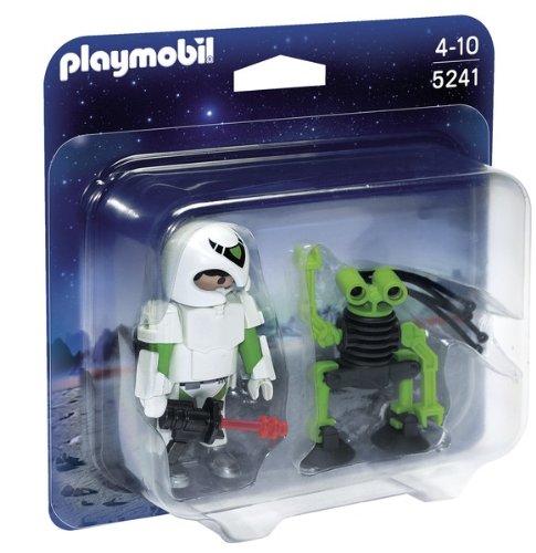 PLAYMOBIL Duo Pack - Hombre del Espacio con Robot...