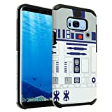 Galaxy S8 Case, IMAGITOUCH 2-Piece Style Slim Fit Armor Case with Dual Layer Protective Cover Air Cushion Design Star Wars R2D2 Robot for Samsung Galaxy S8 Star Wars R2D2 Robot Starwars Hybrid