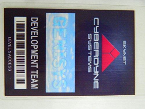 Cyberdyne Systems Devlopment Team Laminated Security ID Badge