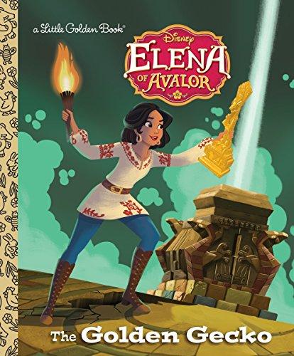 The Golden Gecko (Disney Elena of Avalor) (Little Golden Book)