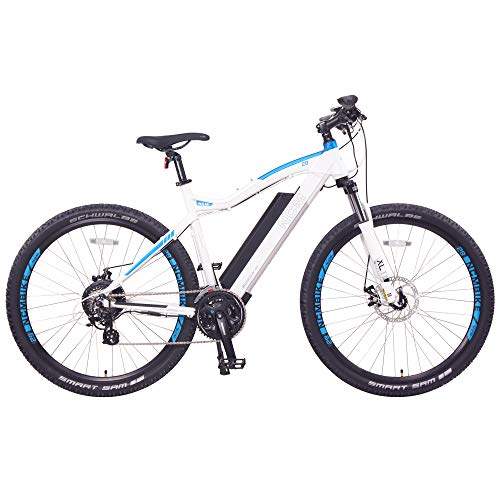 NCM Moscow Electric Mountain Bike 624Wh 48V/13AH Matte White 29'