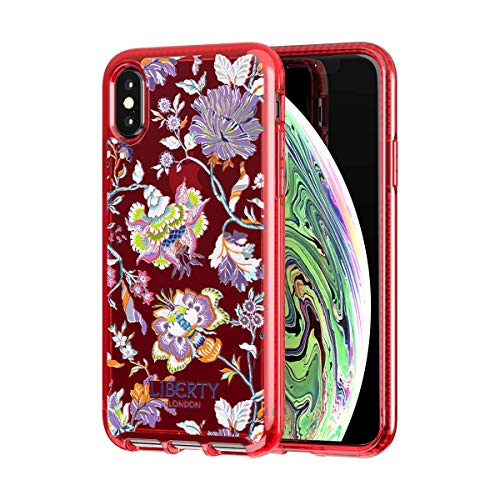 Preisvergleich Produktbild Tech21 Pure Print Liberty Christelle Schutzhülle für Apple iPhone Xs Max - Rot