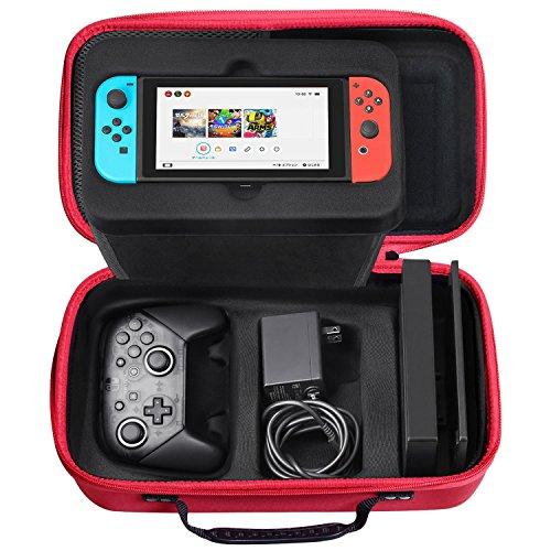 SHareconn Funda para Nintendo Switch, Portátil Duro de Viaje Bolsa de...