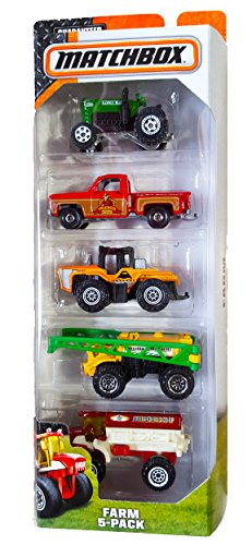 Matchbox, 2015 Series, Farm 5-Pack by Mattel