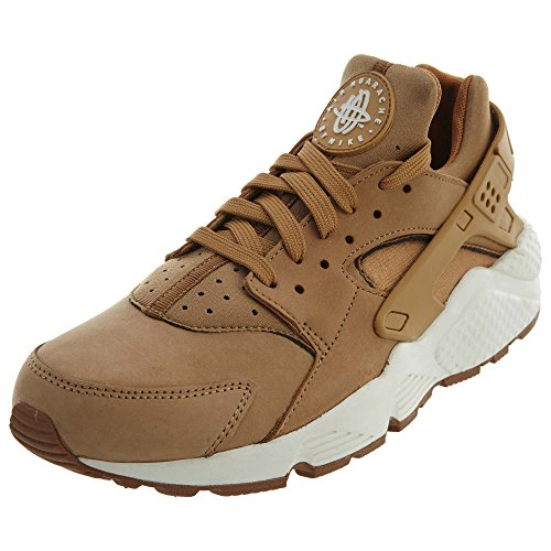 Nike Air Huarache Mens Running Trainers 318429 Sneakers Shoes (UK 6 US 7 EU 40, Flax sail Gum Brown 202)