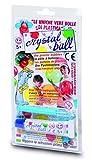 Giochi Preziosi - Crystal Ball, Tubetto di Pasta 20g con Cannello di Soffiaggio, Colori As...