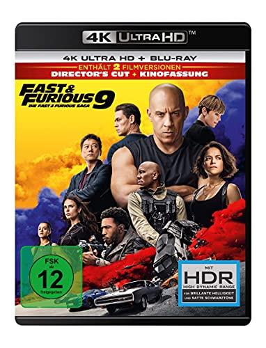 Produktbild von Fast & Furious 9 - Die Fast & Furious Saga (4K Ultra HD) (+ Blu-ray 2D)