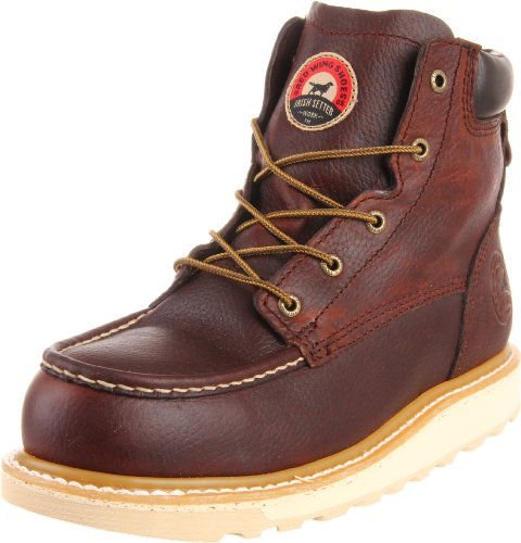 "Irish Setter Men's 83606 6"" Aluminum Toe Work Boot,Brown,12 D US"