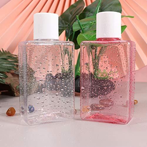 Beaupretty 2 Stück Reiseflaschen Reisebehälter Rohr Reisegröße Toilettenartikel Behälter Make-Up Kosmetikflasche Shampoo Flüssigkeiten Lotion Spender 150Ml