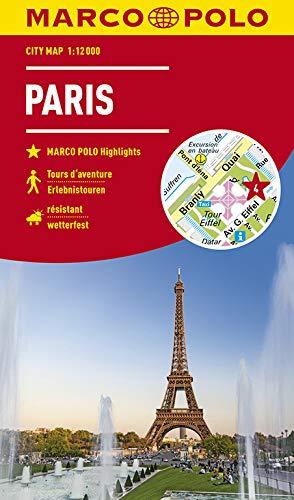 MARCO POLO Cityplan Paris 1:12 000 (MARCO POLO Citypläne)