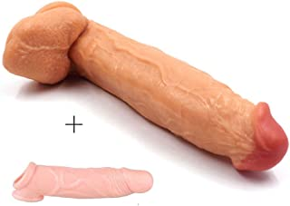 TTQQJJ 12 Inch Lifelike with Large Size and Strong Suction - Flesh - Youeryuanxiao1.7