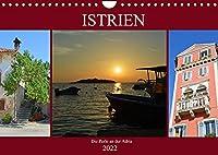 Istrien - Die Perle an der Adria (Wandkalender 2022 DIN A4 quer): Erleben Sie die kroatische Halbinsel Istrien (Monatskalender, 14 Seiten )