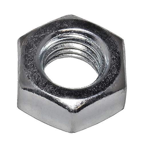 50 Stück Sechskant-Muttern M12 (DIN 934) Stahl verzinkt