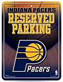 NBA Indiana Pacers 8-Inch by 11-Inch Metal Parking Sign Décor