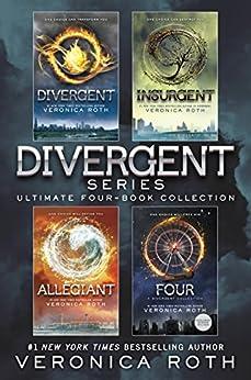 Divergent Series Ultimate Four-Book Collection: Divergent; Insurgent; Allegiant; Four (English Edition) por [Veronica Roth]