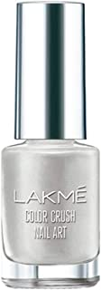 Lakme Color Crush Nailart, M11 Classic Silver, 6 ml